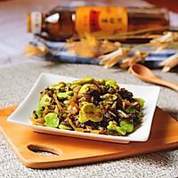 雪菜炒豆瓣#金龙鱼外婆乡小榨菜籽油  我要上春碗#