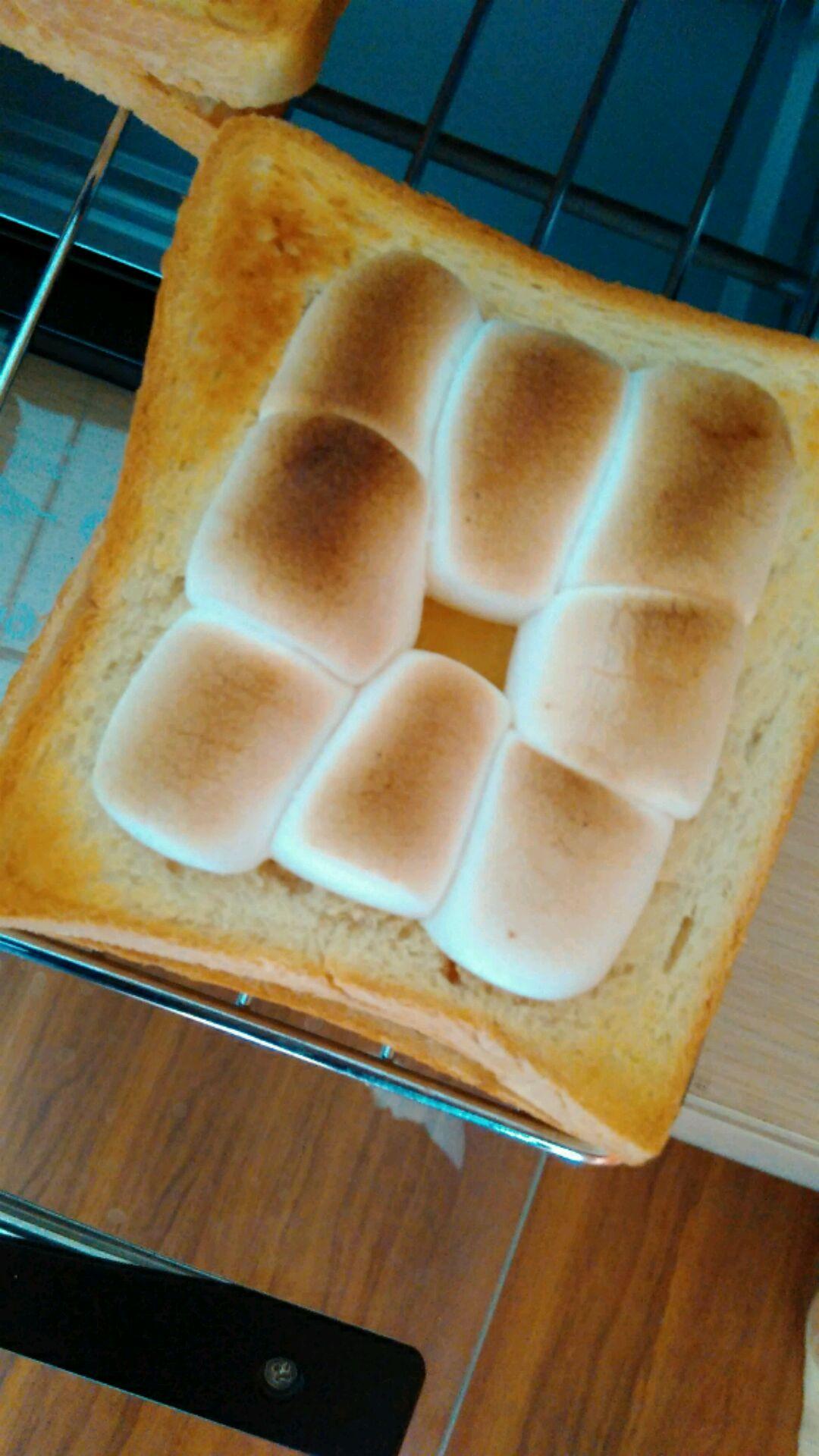 烤棉花糖面包的做法_【图解】烤棉花糖面包怎么做如何