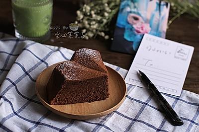 【日式可可海绵】——用不消泡的方法做美貌海绵蛋糕