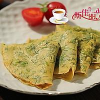 茴香鸡蛋软饼