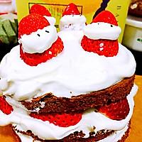 可可戚风【裸蛋糕】6寸量