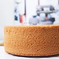 低热量红糖枣泥戚风蛋糕