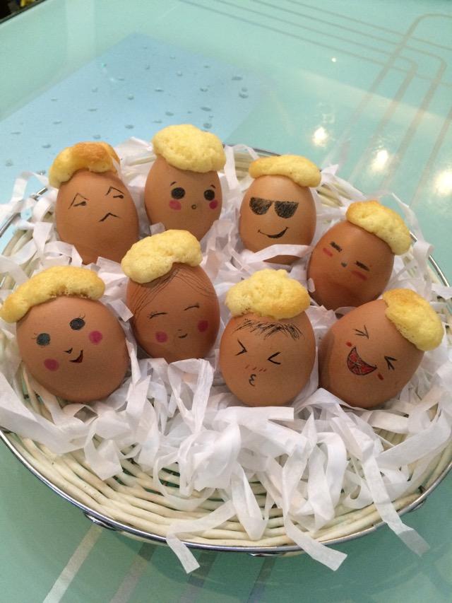 鸡蛋宝宝(柠檬味蛋糕)