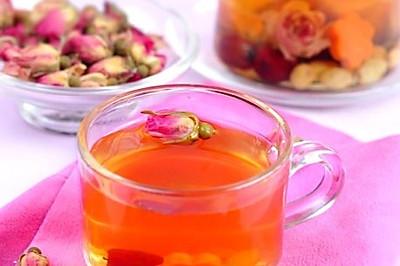 玫瑰胡萝卜茶