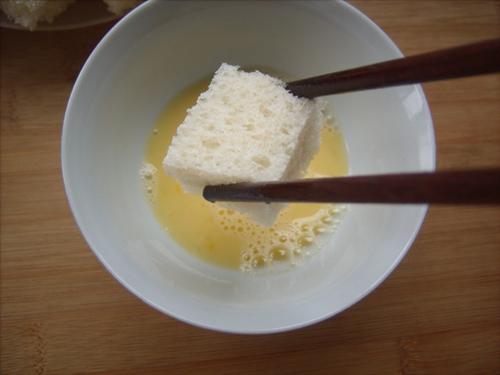 百吉福创意芝士早餐#焗芝士吐司梨的做法图解3