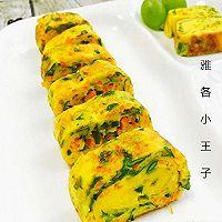 芹菜叶胡萝卜奶酪厚蛋烧