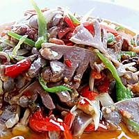 李孃孃爱厨房之——鲜椒炒鸭胗