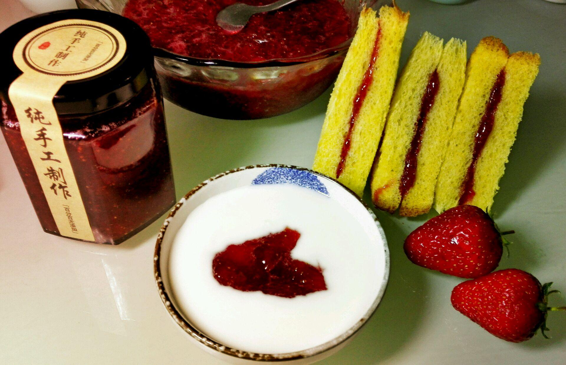 绵白糖360克 纯手工制作草莓酱的做法步骤        本菜谱的做法由 周
