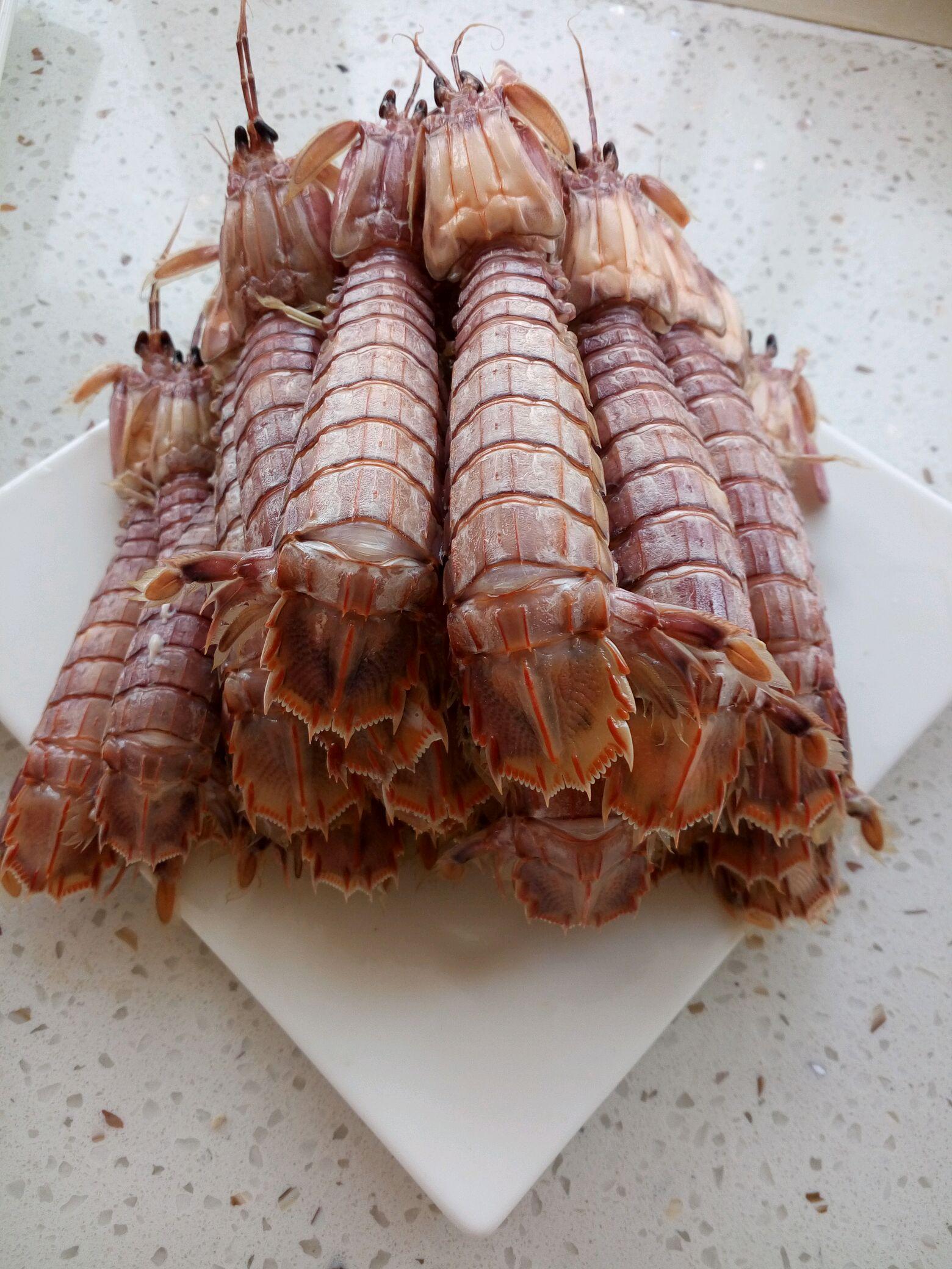 蒸梭子蟹皮皮虾的做法步骤