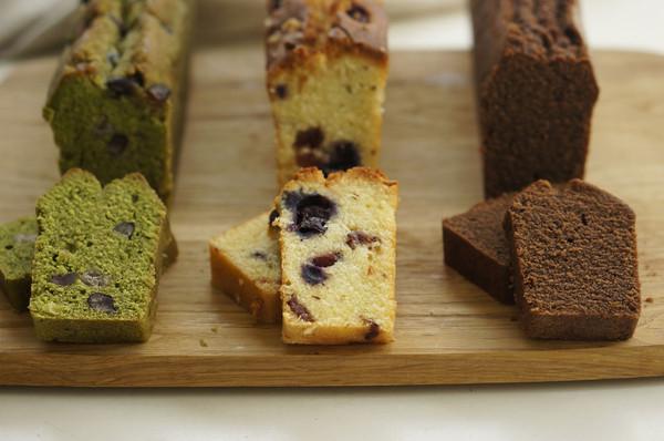 一次学会三种口味磅蛋糕