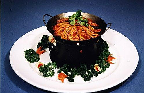 干锅素肉的做法
