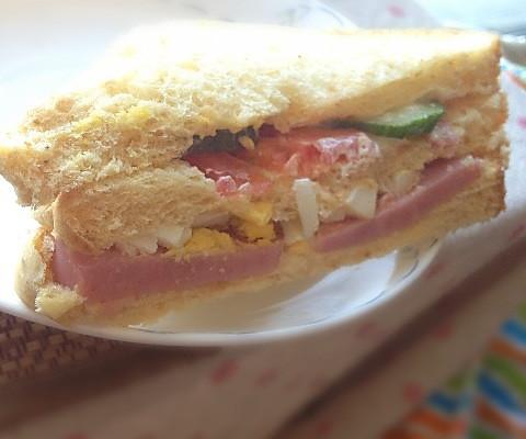 营养早餐三明治的做法步骤