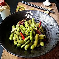 五香盐水毛豆#给爸爸做道菜#