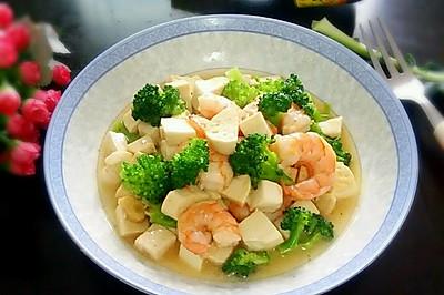 清淡豆腐虾仁#美极鲜味汁#