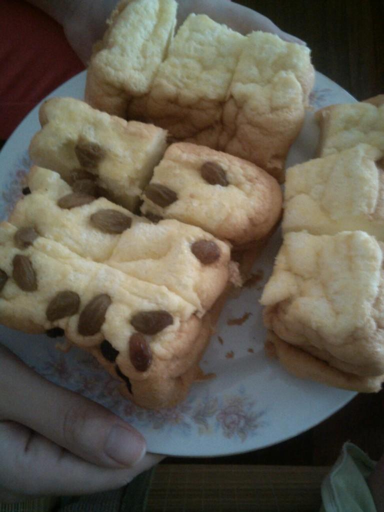 用面包机做的蛋糕