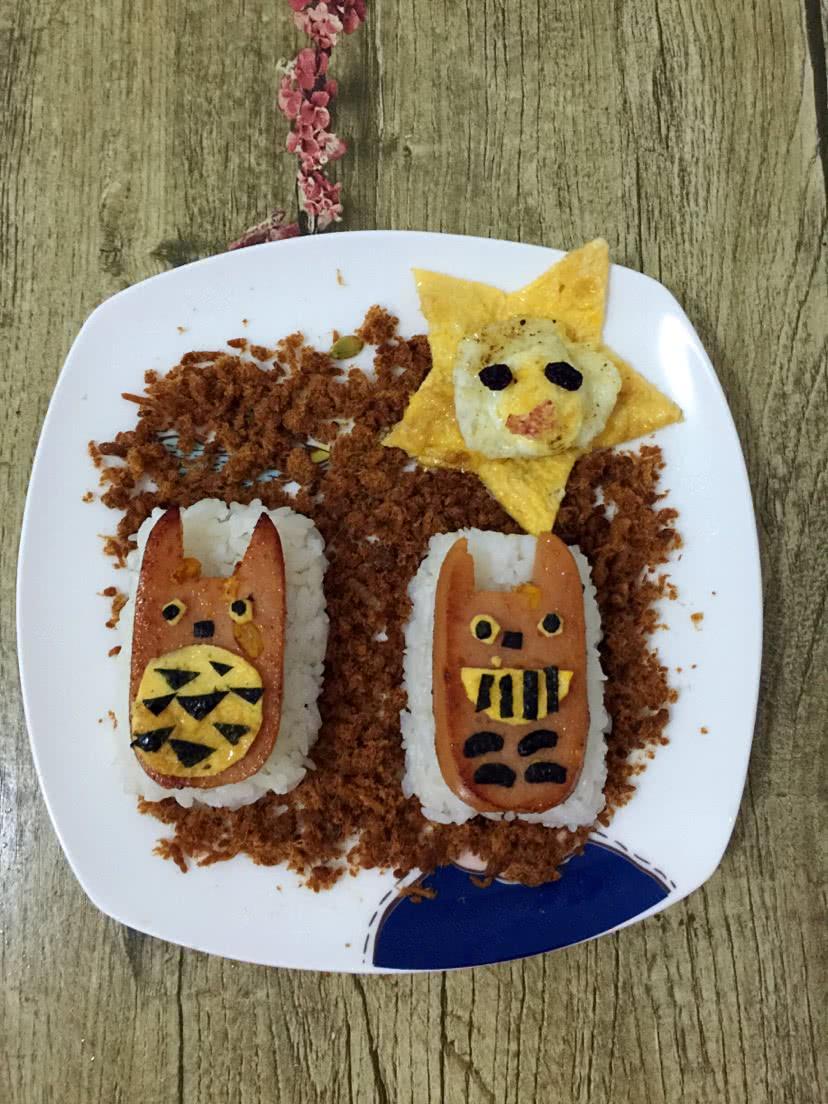 创意儿童早餐的做法图解9