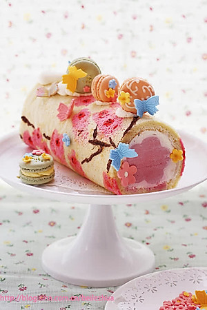 菜谱桃花手绘蛋糕卷 的所有评论