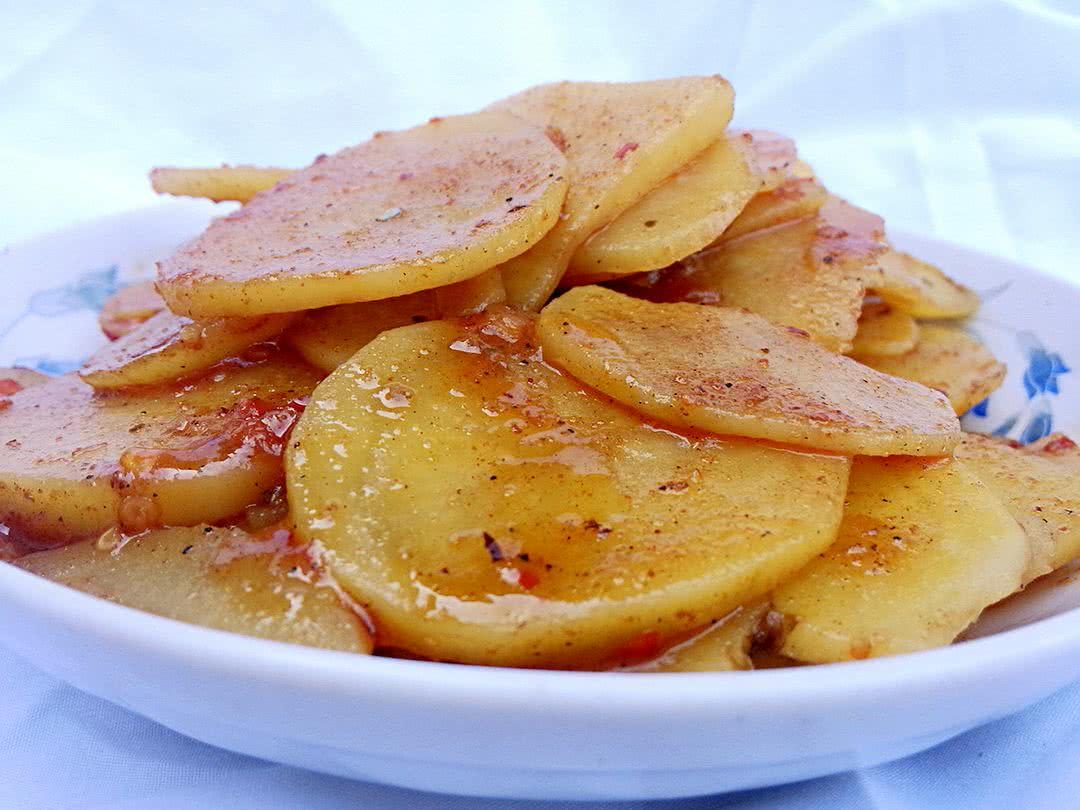 麻辣香鍋土豆片的做法_【圖解】麻辣香鍋土豆片怎么做