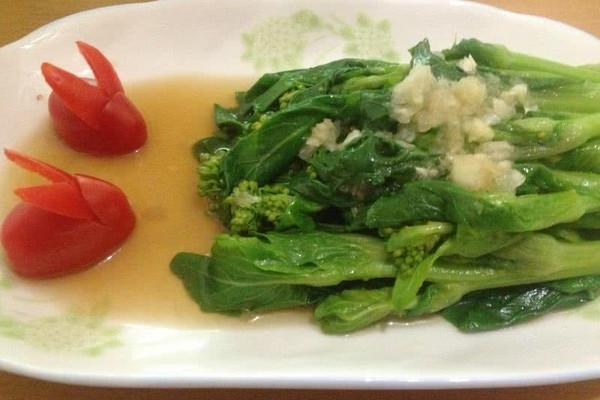 蒜蓉白菜苔的做法