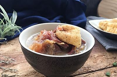 天麻炖火腿肉