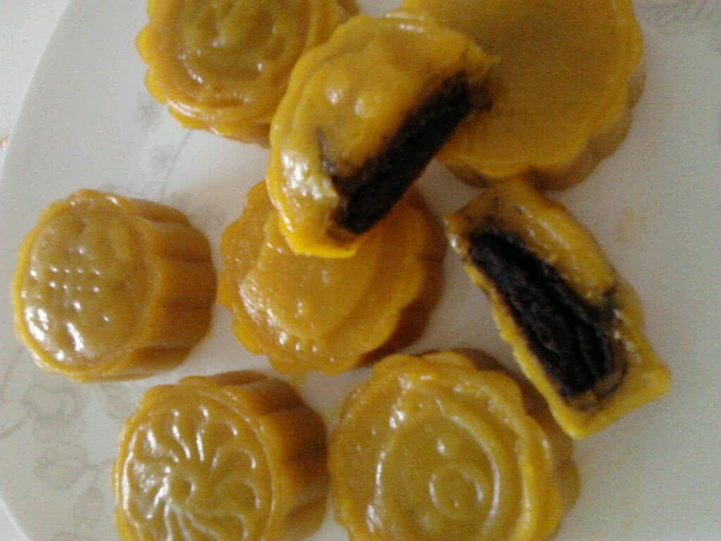 南瓜月饼的做法图解7