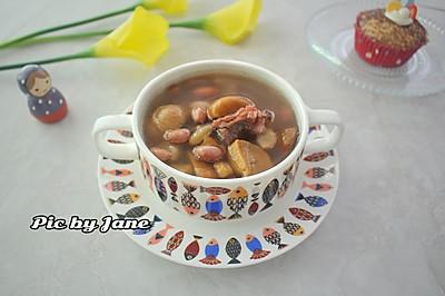 花生板栗猪骨汤