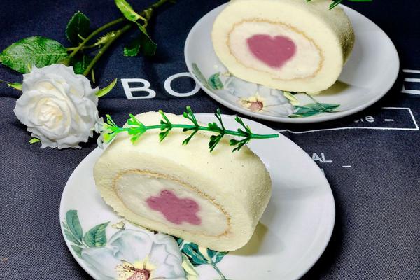 慕斯夹心蛋糕卷的做法
