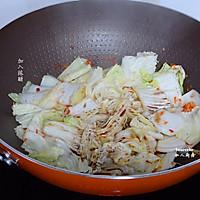 防癌抗癌,开胃酸辣大白菜的做法图解4