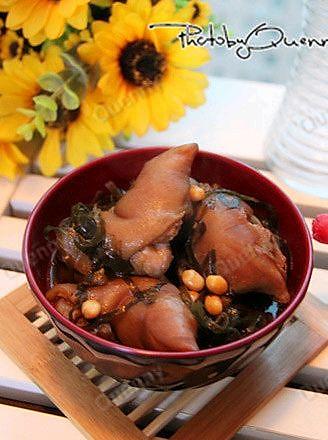 海带炖猪蹄的做法_【图解】海带炖猪蹄怎么做好吃