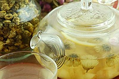 菊花玫瑰花果茶