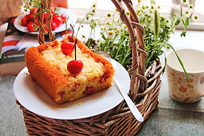 樱桃酥蛋糕