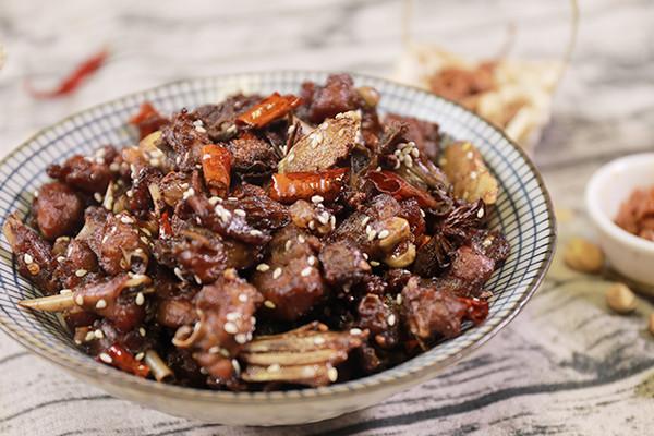 启川蜀特色的隐藏菜单,冷吃兔的做法