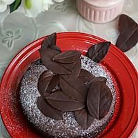 落叶巧克力蛋糕