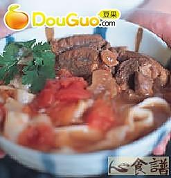 茄汁牛肉面的做法