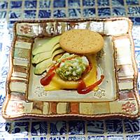 快手低脂全麦饼干三明治#百吉福食尚达人#