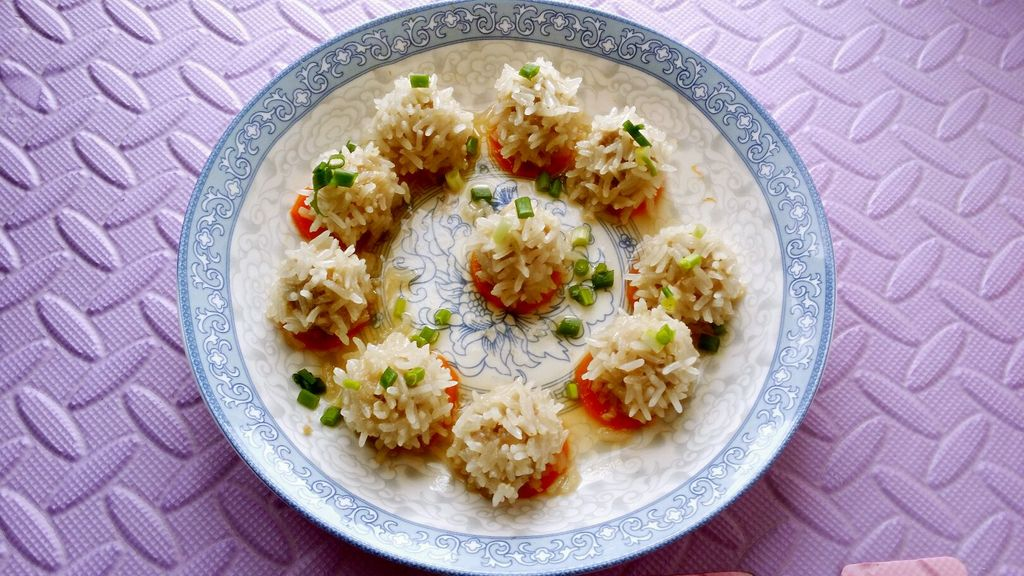 食用油或香油半勺 淀粉半勺 宝宝辅食菜谱:珍珠丸子的做法步骤 小贴士图片