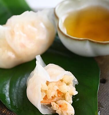 水晶虾饺的做法_【图解】水晶虾饺怎么做好吃_国明的