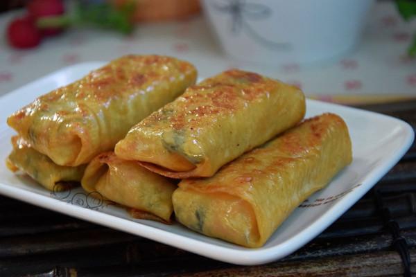 蔬菜黄金卷的做法