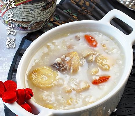速缓感冒恢复体能:沙参糙米鸡肉粥的做法