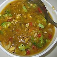生机饮食 南瓜蔬果汤