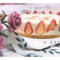 8寸草莓冻芝士蛋糕