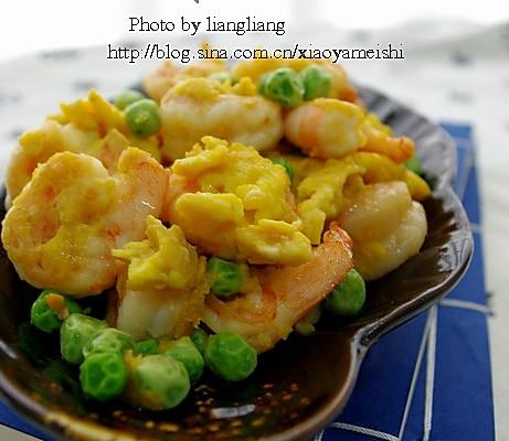 鲜虾仁炒蛋的做法