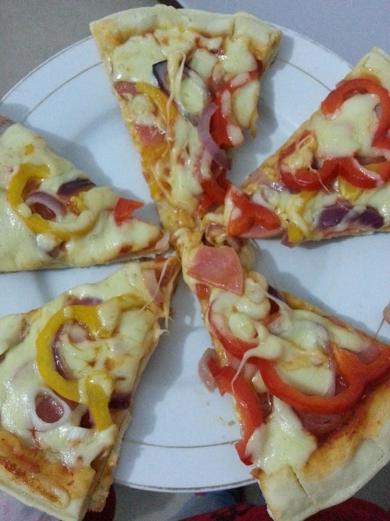 电饼铛芝心披萨的做法图解8