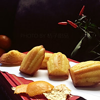 桔子玛德琳蛋糕#柏翠辅食节-零食烘焙#