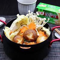 麻辣素菜锅#浓汤宝火锅英雄争霸赛#