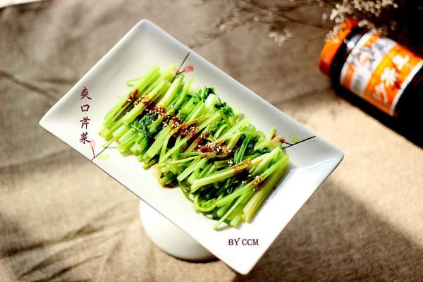 【沙茶美食】爽口芹菜