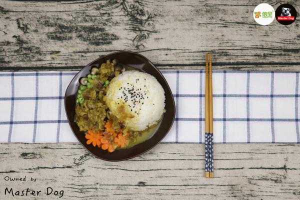 【咖喱羊肉彩虹饭】【双11不吃土】买买买也要对自己好一点的做法