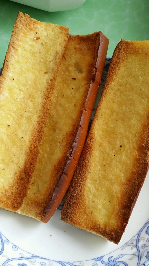 香烤面包的做法步骤