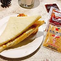 丘比鸡蛋三文治 #丘比沙拉汁#