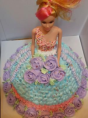 芭比公主蛋糕